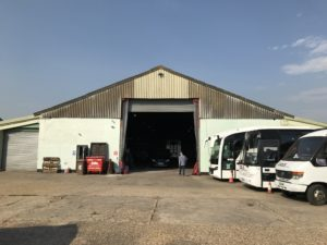 Bassingbourn industrial unit to let